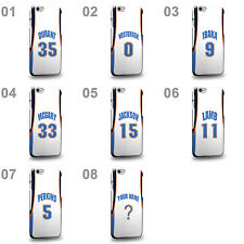 Customized Oklahoma City OKC White Swingman Home Jersey Phone Case Cover