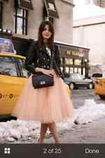 """PROM LAYERED 23"""" ROCKABILLY BRIDAL MESH TULLE NET PETTICOAT TUTU SKIRTS PARTY S"""