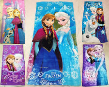 Children Frozen Elsa Princess Anna olaf Cotton Bath Beach Swimming Towel