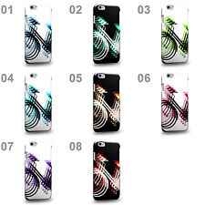 CASE88 Design Art Psychedelic Bicycle Series Hard Phone Case Cover