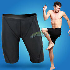 Mens Competition Racing Training Half Pants Swimming Swim Trunks Shorts Jammers