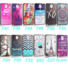 Hard Various Skin Case Cover For Samsung Galaxy Note 3 III N9000