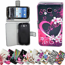 Wallet Flip Leather Skin Stand Phone Case Cover For Samsung Galaxy S3 III I9300