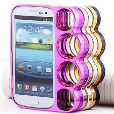 HOT SALE~Unique Case Samsung Galaxy S3 SIII i9300 Rings Knuckles Rim Skin Cover
