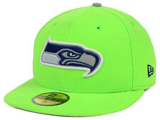 Official 2014 Seattle Seahawks New Era NFL Thanksgiving Reflective 59FIFTY Hat