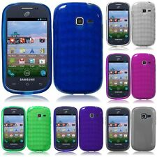 For Samsung Galaxy Discover Centura Case TPU Rubber Grip Cover Case