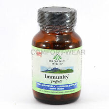 Organic India Immunity Herbal Protect Viral Fever Dengue Infection Cold 60 VCaps