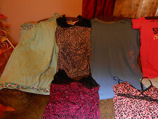 women plus size intimate wear, pajamas, gowns, housecoats