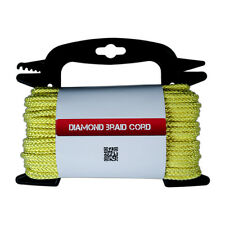 """Poly Braided Diamond Cord - General Purpose Utility Rope 5/32"""" Thickness 75 ft"""
