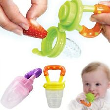 New Silicone Baby Feeder Feeding Fresh Food Fruit Juice Milk Shake Safe Supplies