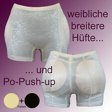 Push-Up Bottom + Hips Girdle Pants Padded Knickers Transgender CD