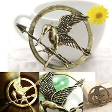 THE HUNGER GAMES - Mockingjay Bird Pin Badge Brand New Two Color To Choose