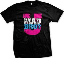 U Mad Bro? Bright Colors Hot Trendy Funny Sayings Slogans Mens T-shirt