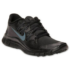 NIKE MEN'S FREE 5.0+ RUNNING SHOES 579959 020 BLACK/ANTHRACITE $100 RETAIL