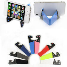 Foldable mobile cell phone stand holder for smartphone & tablet PC Universal