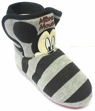 Kids unisex Mickey Mouse boot slippers