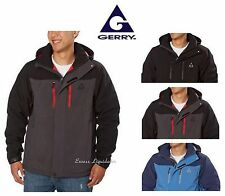 GERRY PRO-SPHERE Men's Insulated Coat, Hooded, Stretch & Water resistant! Jacket