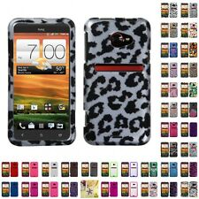 For HTC EVO 4G LTE Case Cover Accessories Hybrid TUFF Armor Design Armor