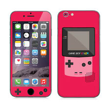 Premium Elaborated Skin Decal Stickers For iPhone 6 Plus iPhone Game Boy Pink