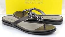 Women's Shoes Kenneth Cole Reaction NET N BET Flat Thong Sandals Silver