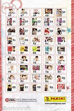 "1D One Direction ""Choose Your Photocard 46 - 90"" Harry Niall Louis Liam Zayn NEW"