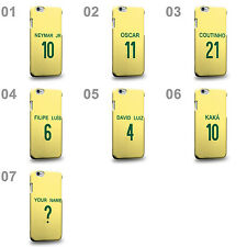 Brazil National Football Team Famous Soccer Home Jersey A Phone Case Cover
