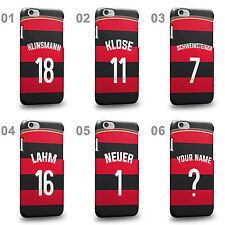 Germany National Football Team Famous Soccer Away Jersey B Phone Case Cover
