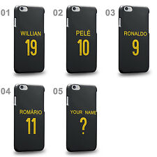 Brazil National Football Team Famous Soccer Third Jersey B Phone Case Cover