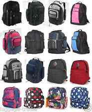 Large mens/ kids backpack - back to school camping books travel rugged rucksack