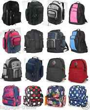 Large Mens Kids Backpack Back To School Camping Books Travel Rugged Rucksack Big