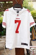 Nike WHITE San Francisco 49ers Games Jersey Colin Kaepernick 7 YOUTH Football