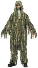 Boys Ghillie Suit Child Costume without Hood Size Medium