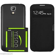 Samsung Galaxy S4 SIV YESOO NFC Extended Battery,Back Cover & Smart S View Case