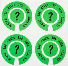 ACCLAIM Self Adhesive Bowls Stickers Set Printed Where The Hells The Jack Gone