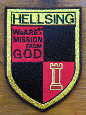Hellsing Patch - sew or iron on - cosplay anime manga Alucard Seras Integra Vamp
