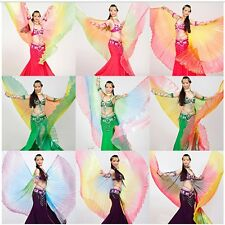 New Belly Dance Costume Isis Wings Professional 9 Colors Gradient Colors
