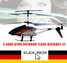 Rc Hubschrauber 2.4 GHz Helikopter Gyro 3.5 Kanal Heli Helicopter in&outdoor LED