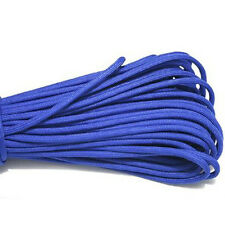 0550 PARACORD 7 INNER PREPPERS CAMPING HIKING TENT ROPE BUSHCRAFT SURVIVAL BLUE