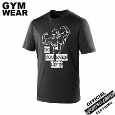 Do You Even Lift ? S-XXL Cool Black T-Shirt Breathable GYM WEAR