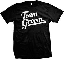 Team Groom- Fun Marriage - Great Bachelor Party Shirts! Mens T-shirt