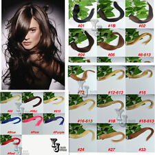 "Straight Or Wavy Tape Remy A Or AAA 18""20""22""L Real Human Hair Extensions,50gW"