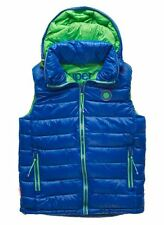 New Mens Superdry Super Senjo Vest Gilet Jacket Electric Blue