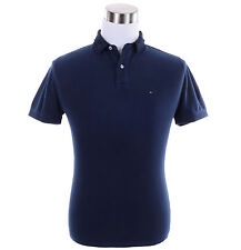 Tommy Hilfiger Men Short Sleeve Solid Rugby Polo Shirt - New York Fit - $0 Ship