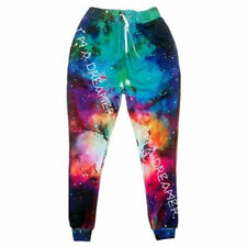 Multicolor Galaxy 3D print sport pants running sweatpants jogger Men/Women