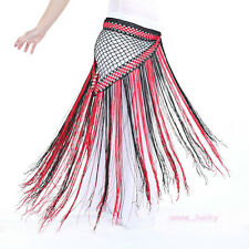 New Belly Dance Two Colors Hip Scarf Belt Triangle Shawl Tassel Belt 13 colours