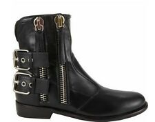 2014 new  100% genuine leather Casual Zipper belt women shoes boots C10