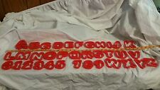 COOKIE CUTTERS ALPHABET LETTERS AND NUMBERS CHOOSE! $1 EACH PLASTIC A-Z 0-9