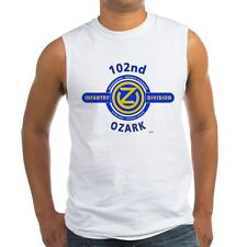 "102ND INFANTRY DIVISION WW II "" OZARK ""  SLEEVELESS / TANK TOP SHIRT"