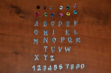 AUTHENTIC Origami Owl Charms. Birthstones, Letters & Numbers