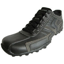 Skechers Mens Relaxed Fit Talus Valey 63746 Lace Up Oxford Shoe